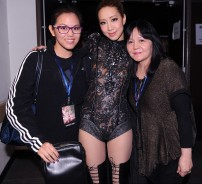 Krystal and Christine with Kary Ng